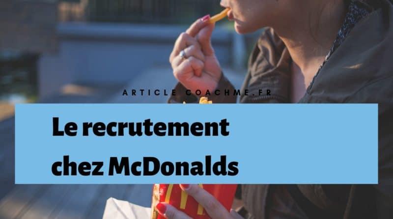 9 Informations Sur La Politique De Recrutement De Mcdonalds