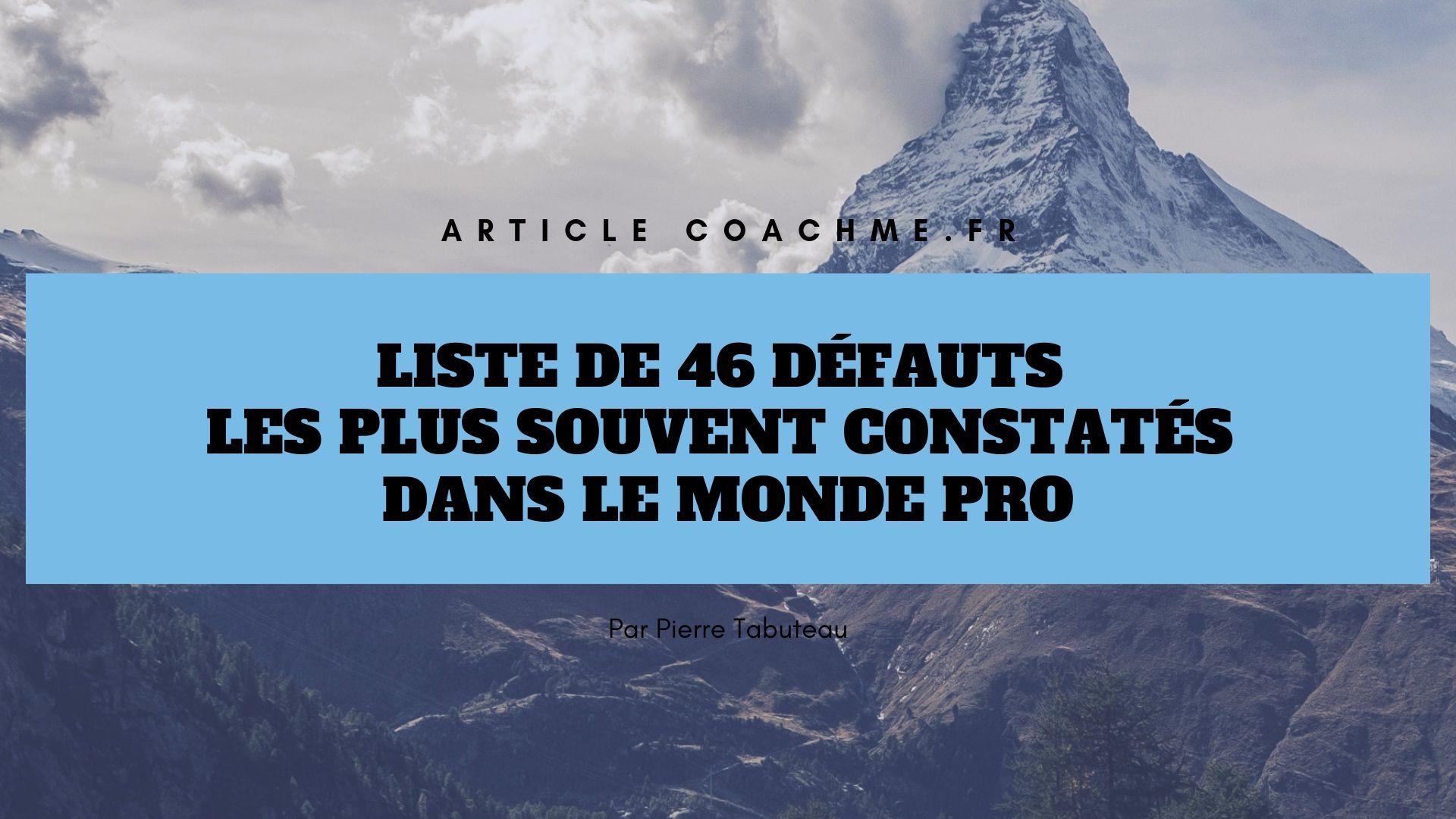 Exemple Qualité Et Défaut Lors D Un Entretien - Le ...