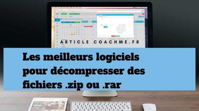 Le site officiel en français de 7-Zip ! 7-Zip est un logiciel gratuit d'archivage de fichiers avec un taux de compression très élevé.. Téléchargez 7-Zip 19.00 (21/2/2019) pour Windows: