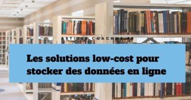 7 solutions low-cost pour stocker des données en ligne