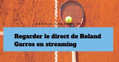 7 sites pour regarder le direct de Roland Garros en streaming