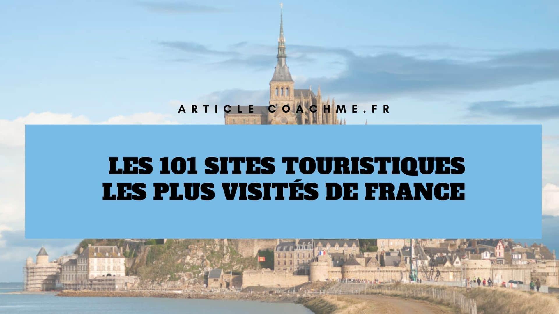 sites touristiques en france