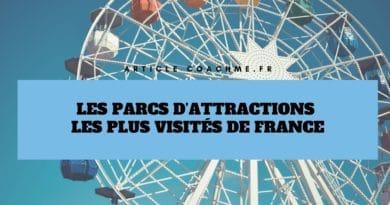 Top 12 des parcs d'attractions les plus visités de France