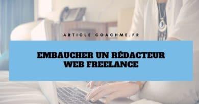 Top 9 des sites pour embaucher un rédacteur web freelance