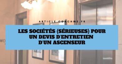 8 sociétés (sérieuses) pour un devis d'entretien d'un ascenseur