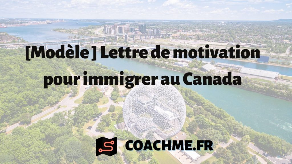 lettre motivation immigration canada