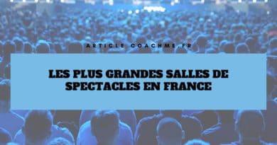 Top 15 des plus grandes salles de spectacles en France