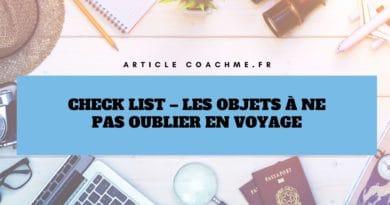 Check List: 16 objets à emporter dans sa valise en voyage