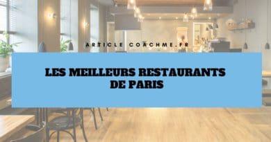Les 15 meilleurs restaurants de Paris (selon leurs évaluations clients)