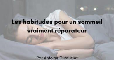 5 habitudes pour un sommeil vraiment réparateur