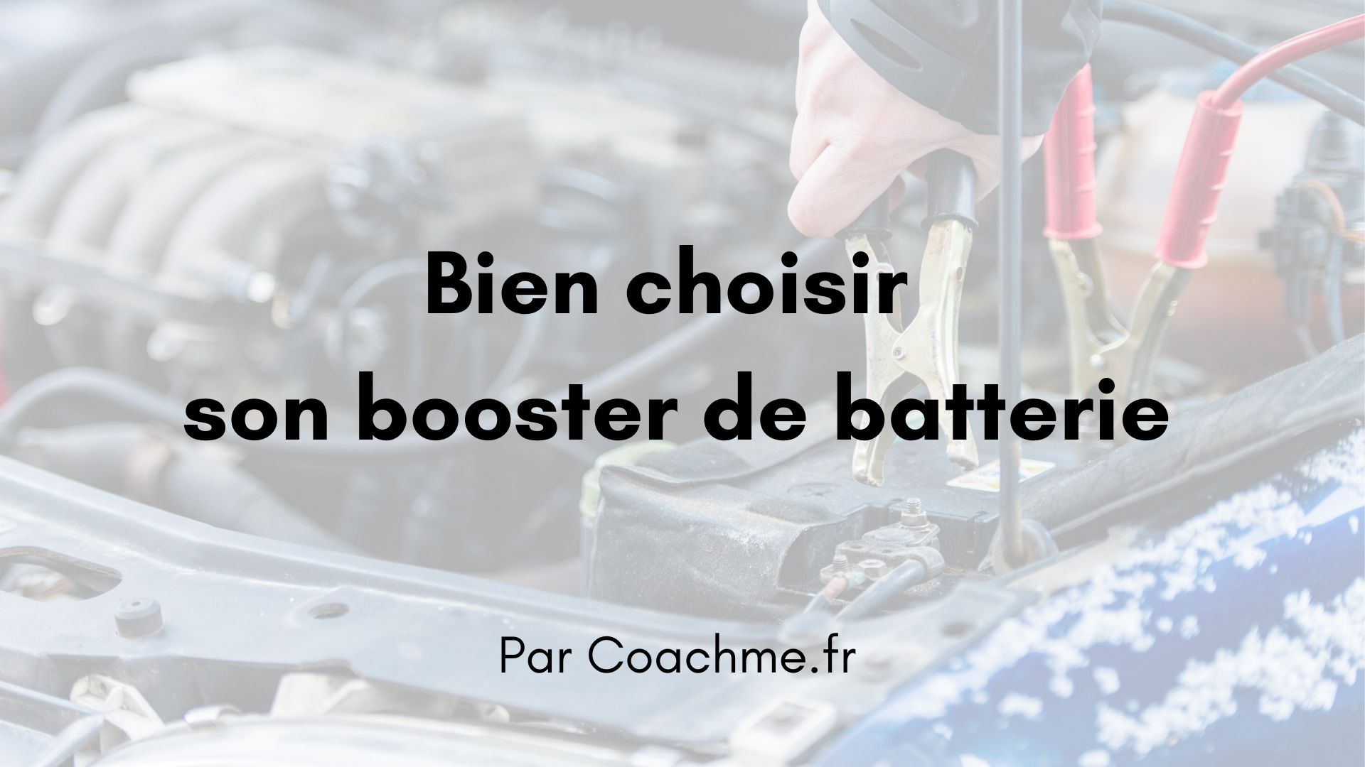booster batterie voiture