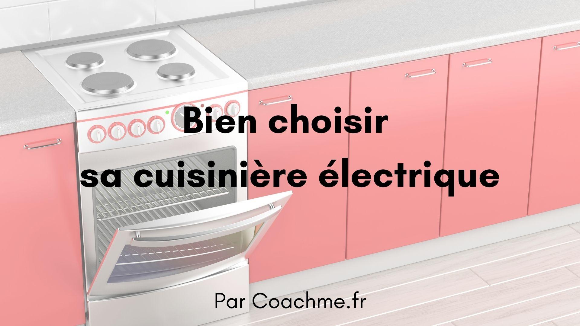 cuisinière electrique