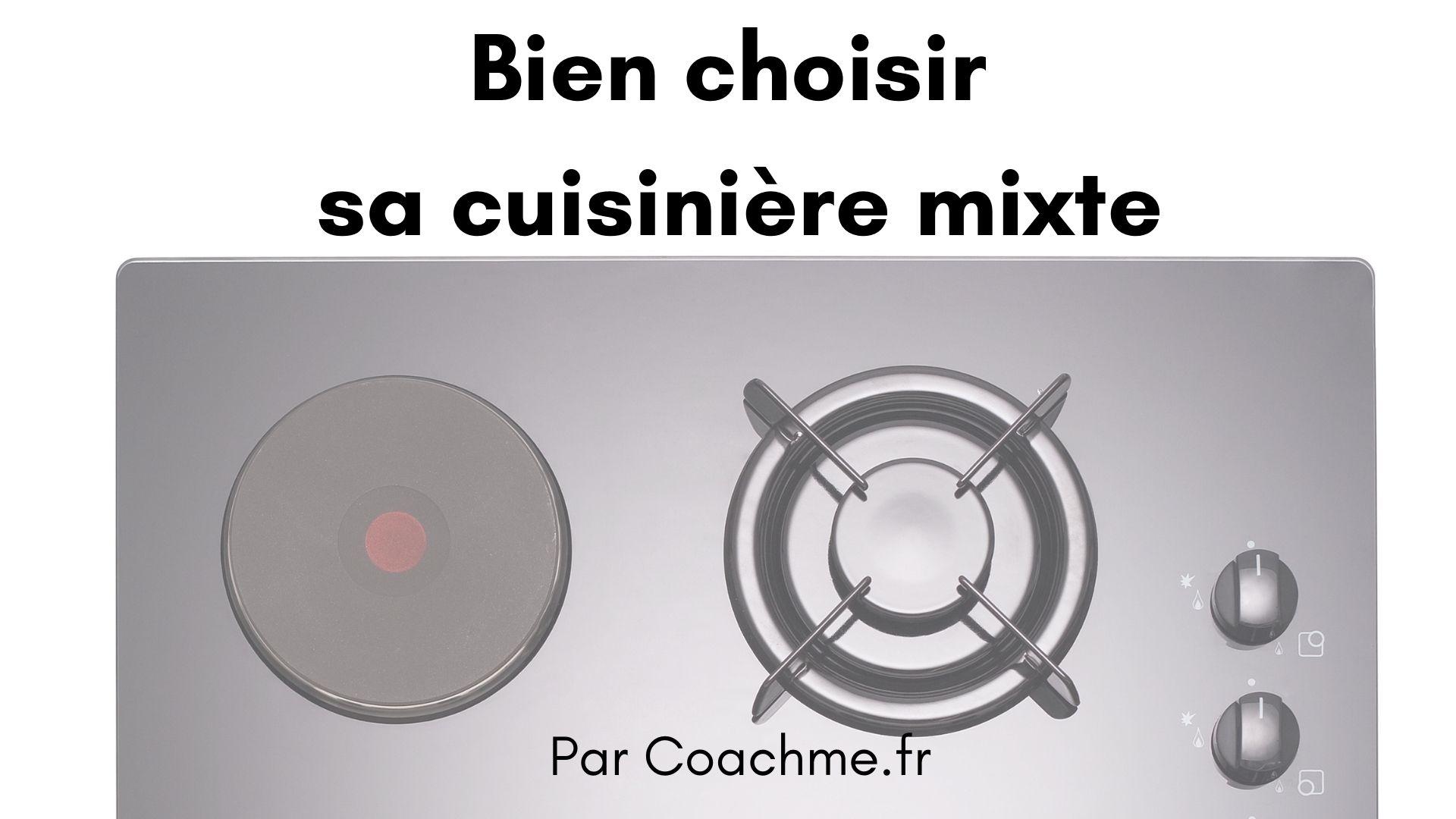 cuisinière mixte