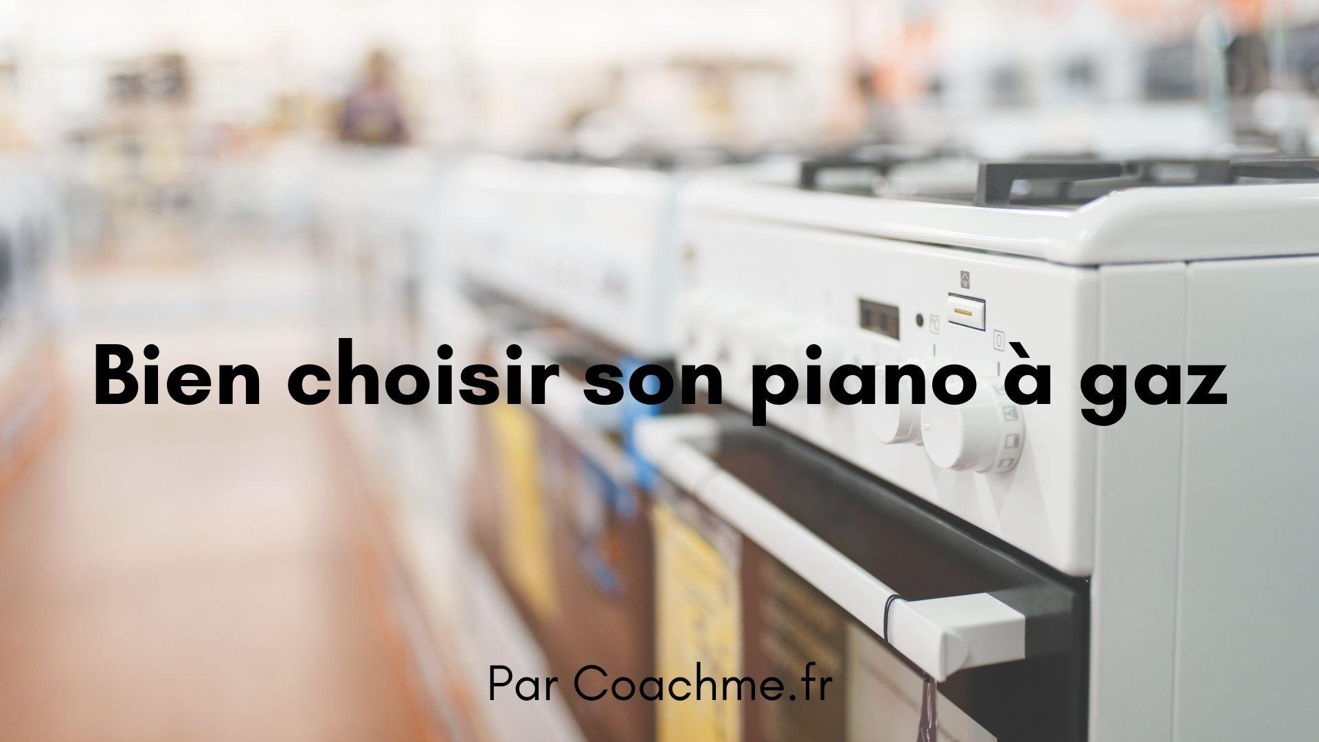 cuisinière piano gaz