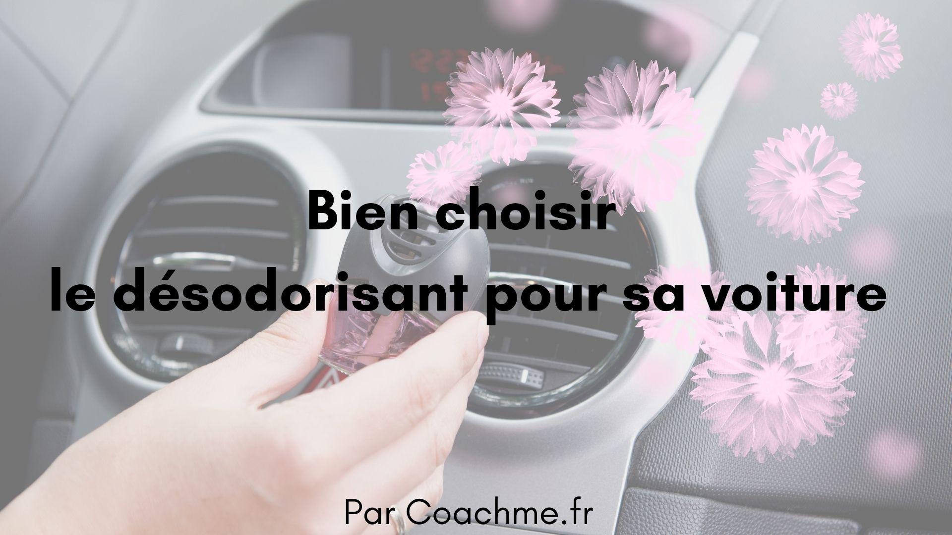 desodorisant voiture