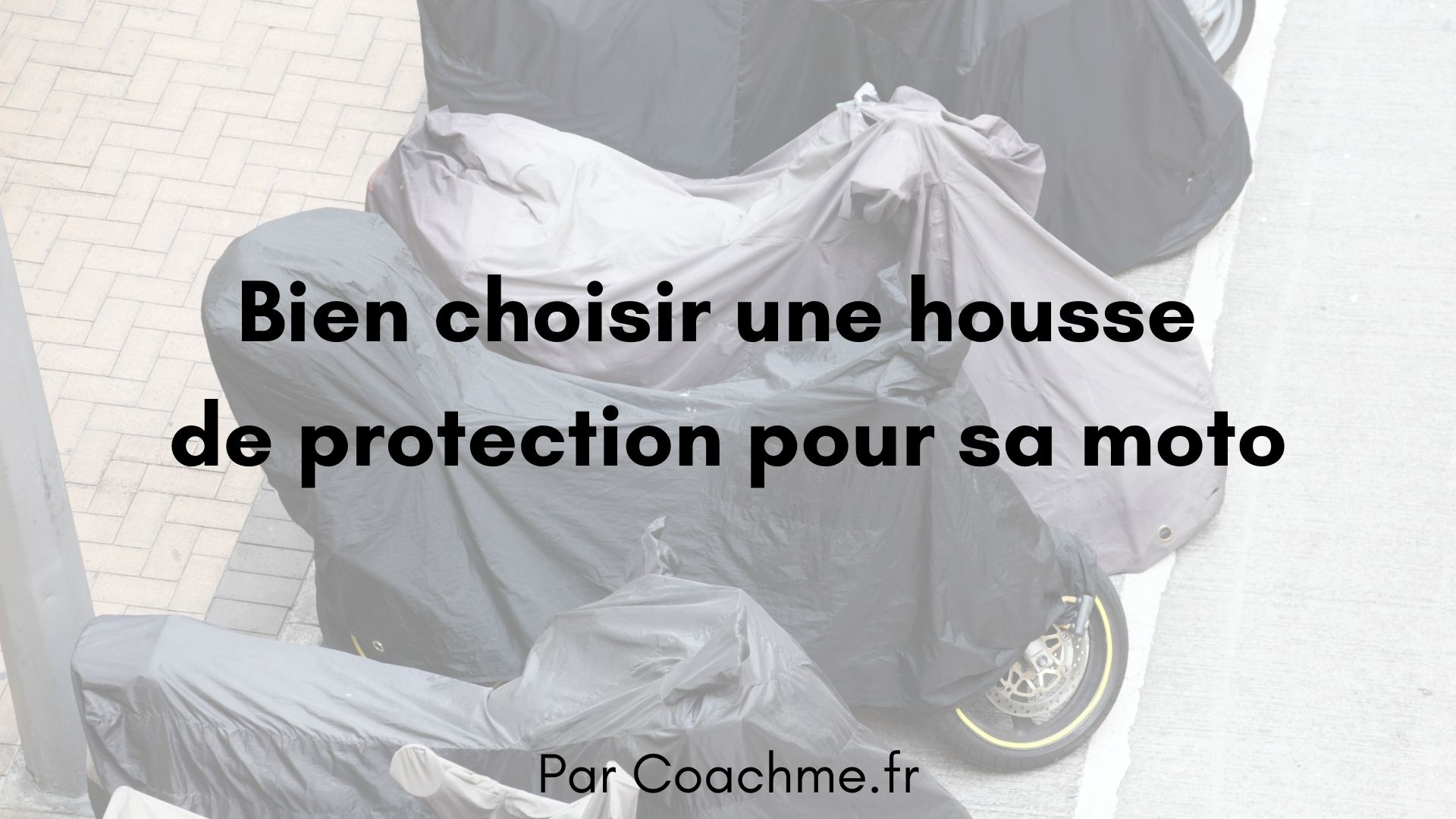 housse protection moto