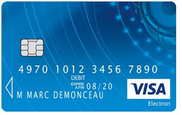 2. Carte Visa Electron