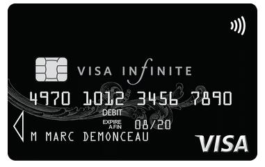 4. Carte Visa Infinite
