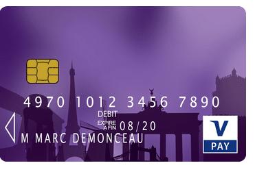 6. Carte Visa V Pay
