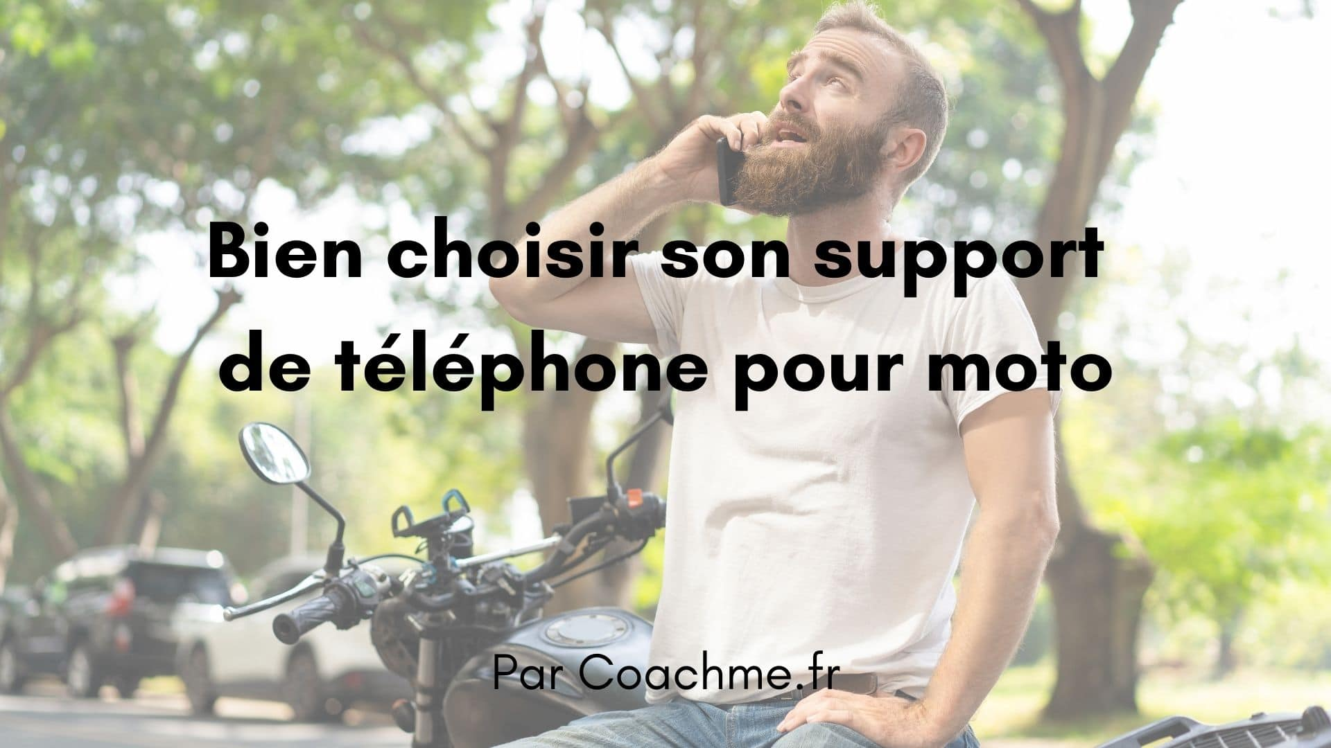 support telephone moto