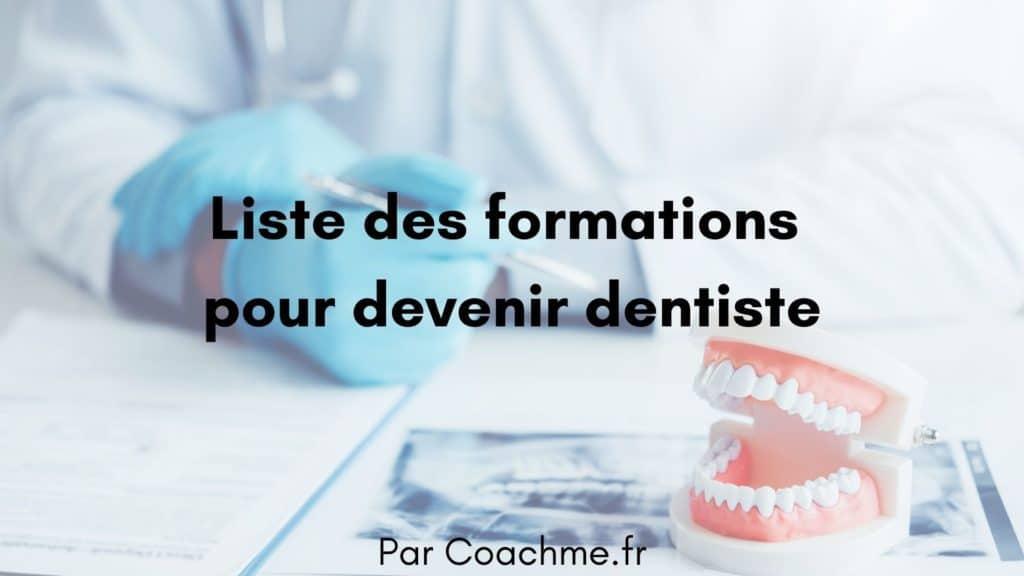 formation dentiste